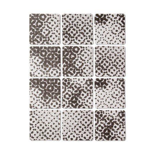 Modern by Dwell Magazine Coasters - Metallic Dot (12ct)