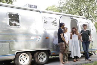 Airstream Dream Team: These Women Travel the Country, Turning Retro RVs Into Homes