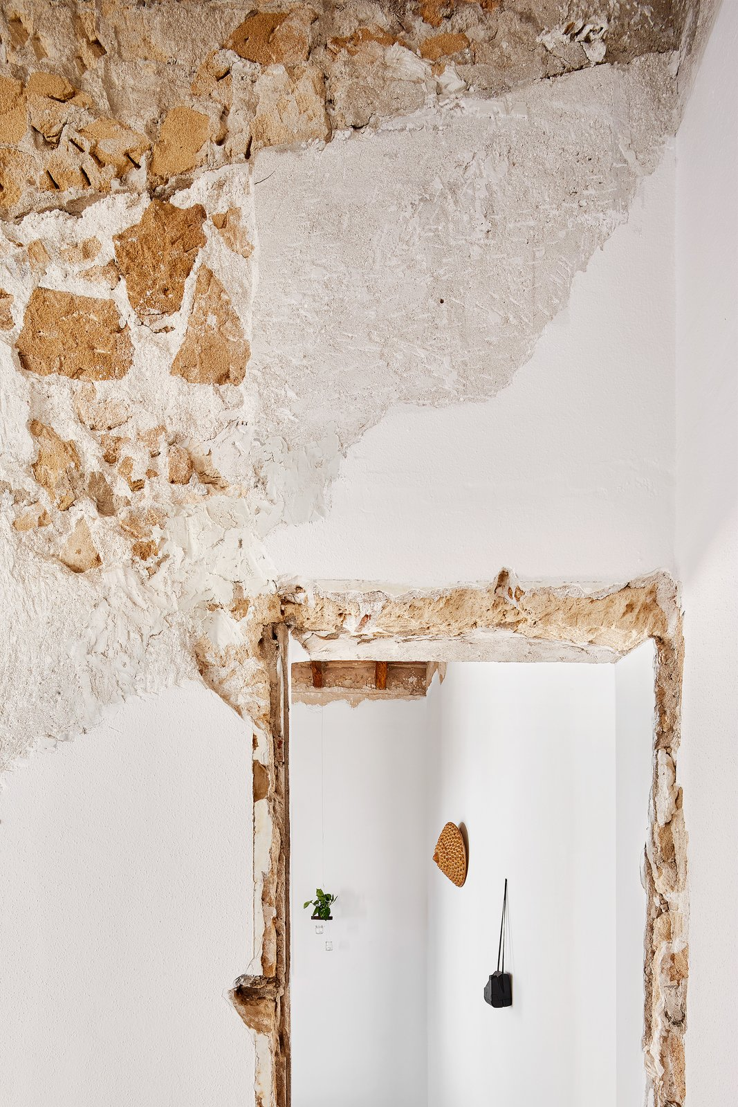 Tagged: Doors and Interior.  Photo 3 of 13 in A Salvaged Apartment on Mallorca Leaves its Roots Exposed