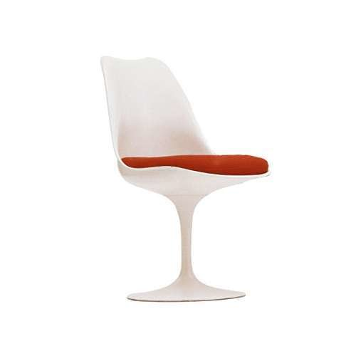 Tulip Armless Chair with Seat Cushion by Knoll