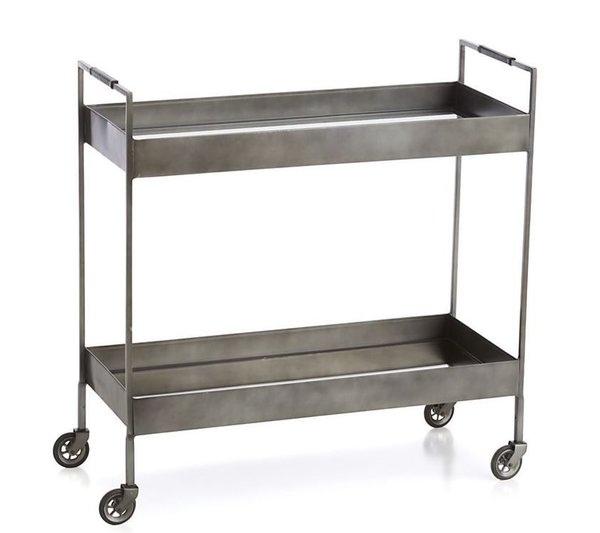 Crate & Barrel Libations Bar Cart