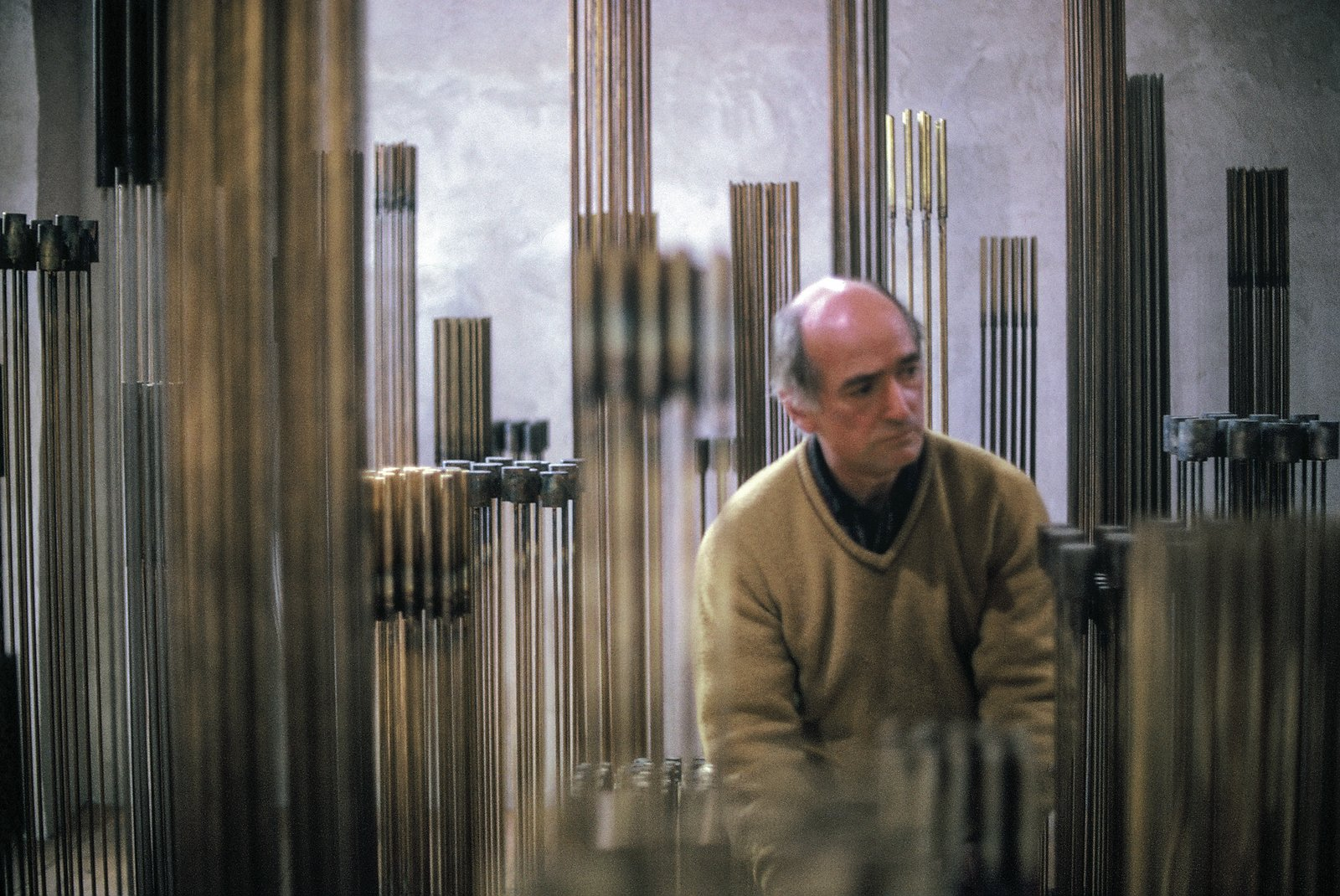 Photo 2 of 15 in A New Box Set Captures Harry Bertoia at the Sonambient Barn