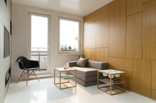 A Tiny Apartment in Slovakia Makes Clever Use of Space - Photo 1 of 7 -
