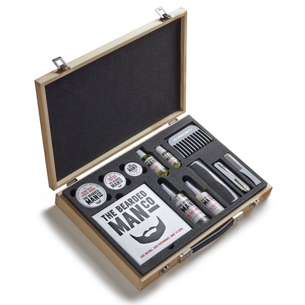Master Collection Luxury Wooden Beard Kit