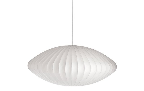 Herman Miller Saucer Bubble Pendant by George Nelson
