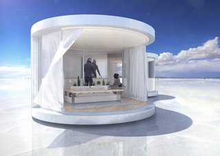 This Mesmerizing New Prefab Looks Like a Cocoon - Photo 2 of 7 -