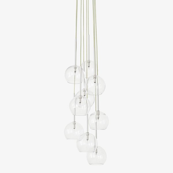 ABC Carpet & Home Clear Ice Chandelier