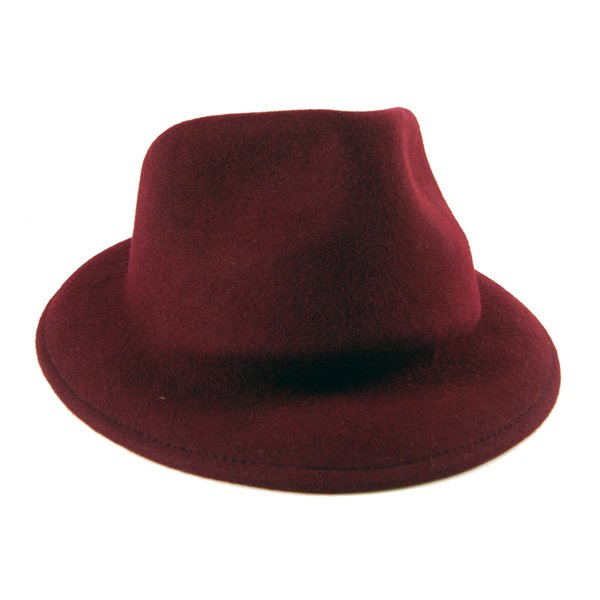 Felt Fedora Hat For Women & Men