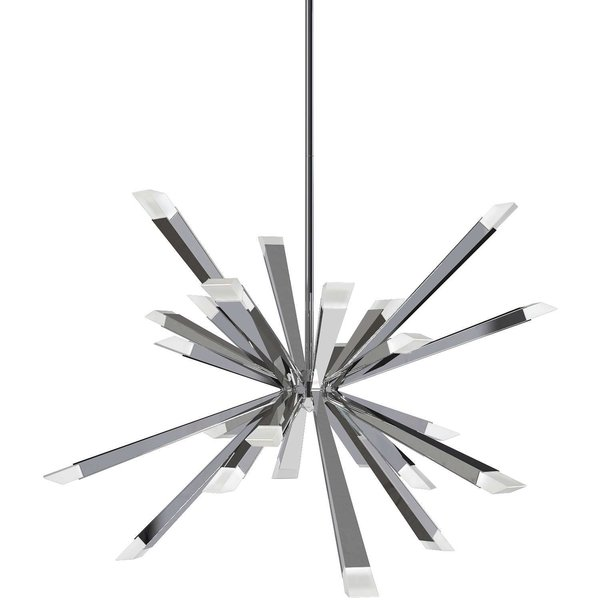 BlackJack Lighting Starburst LED Chandelier