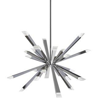 BlackJack Lighting Starburst LED Chandelier