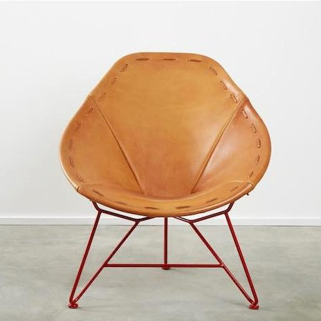 Garza Marfa Saddle Leather Chair