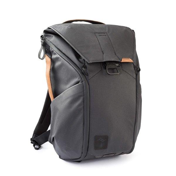 Peak Design Everyday Backpack - Black + Leather