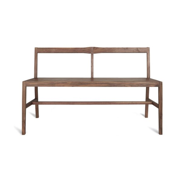 Kaufmann Gathering Bench (Walnut)