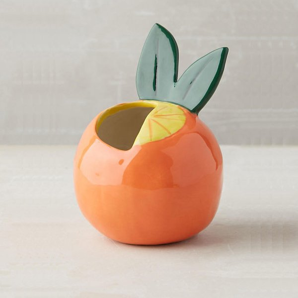 Anthropologie Favorite Fruit Pot
