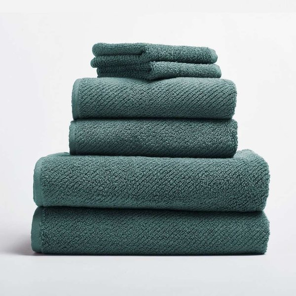 Air Weight 6-Piece Towel Set from Coyuchi