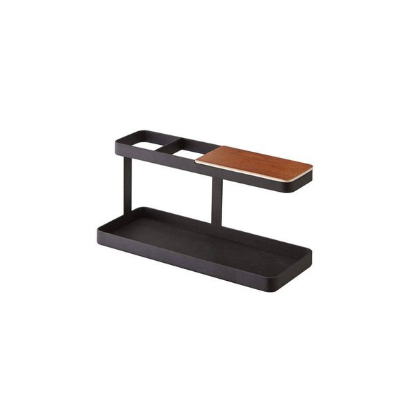 "Steel & Wood Desktop Organizer ""Deskbar"""