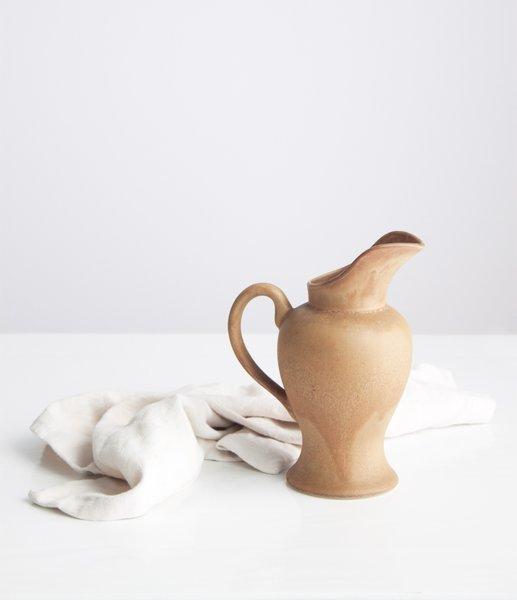 Stoneware Urn Pitcher
