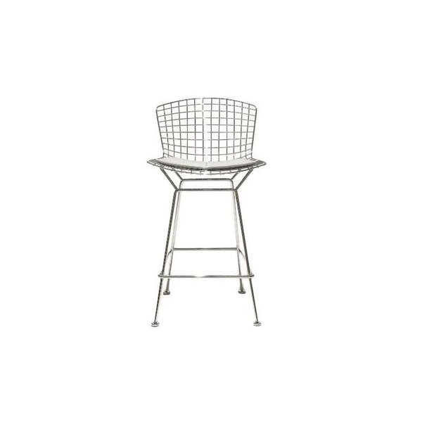 Knoll Bertoia Barstool with Seat Cushion