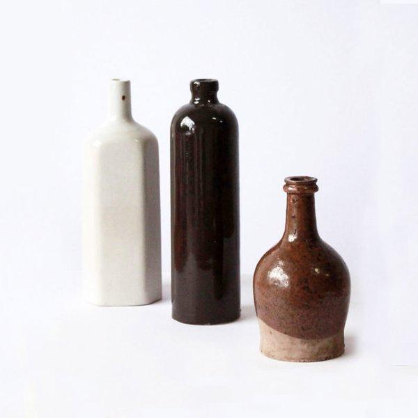 Set of 3 Vintage Beer Bottles