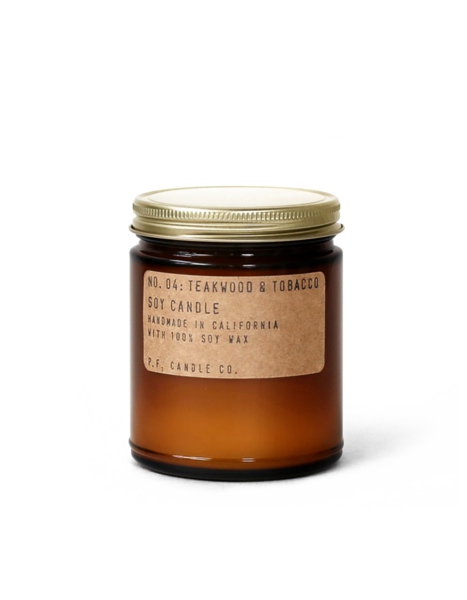 P. F. Candle Co. No. 04: Teakwood & Tobacco