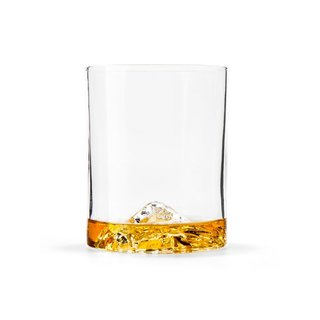 Whiskey Peaks Glasses – Set of 4