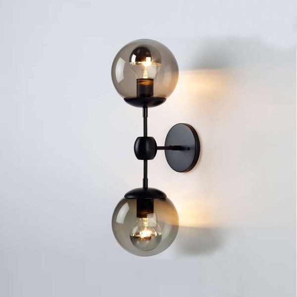 Modo Wall Sconce - 2 Globes from Roll and Hill