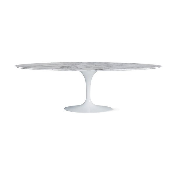 Saarinen 96-Inch Oval Dining Table by Knoll