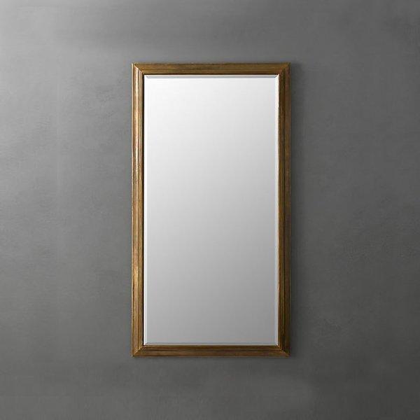 English Aged Mirror