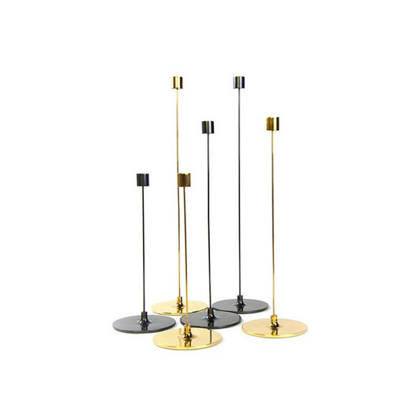 "Gentner Design Brass Cnadle Sticks ""Pin"""