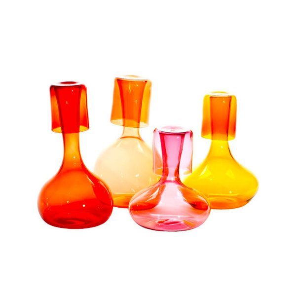 Esque Studio Glass Pitcher & Cup Set