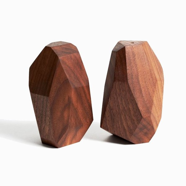 Walnut Salt & Pepper Shakers