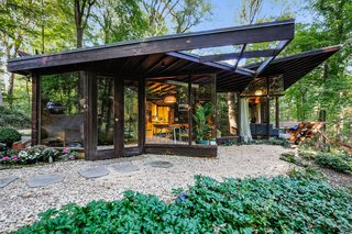 Live Out Frank Lloyd Wright's Usonian Vision in This Home That's Asking $725K - Photo 1 of 10 -