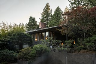 Nearly 80 Years Later, an Architect Rescues a Japanese-Inspired  Masterwork Designed by His Father - Photo 6 of 14 - With the aid of landscaper Takashi Fukuda and the home's original plans, the residents are gradually reclaiming the multileveled site.