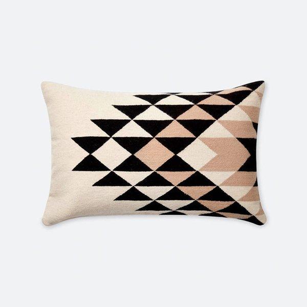 The Citizenry Lucia Lumbar Pillow – Black