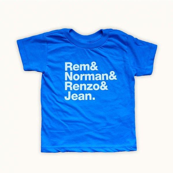 Rem & Norman & Renzo & Jean Tee