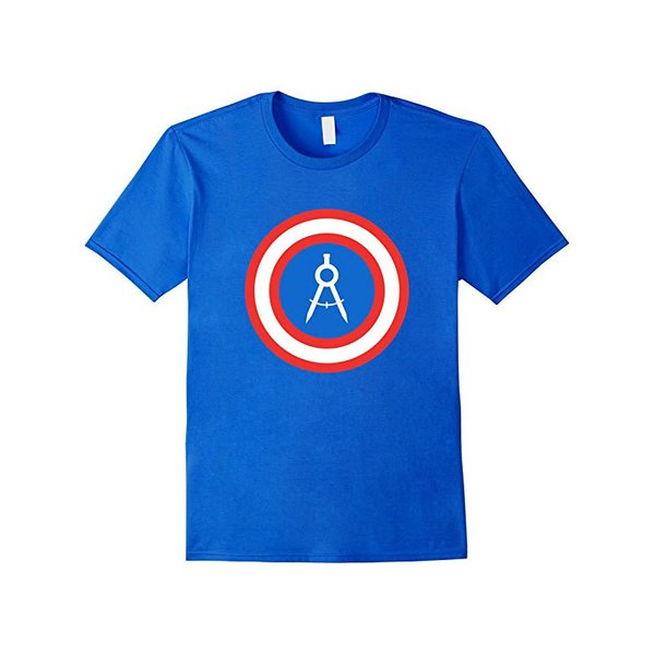 Captain Compass Pencil Architect Architecture T Shirt