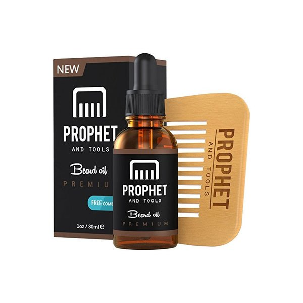 Prophet and Tools Beard Oil and Beard Comb Kit