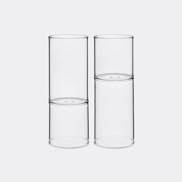 Fferrone Revolution Wine and Water Glass, Set of 2