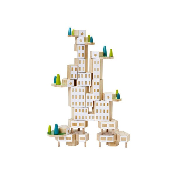 "Blockitecture City Building Blocks ""Garden City"""