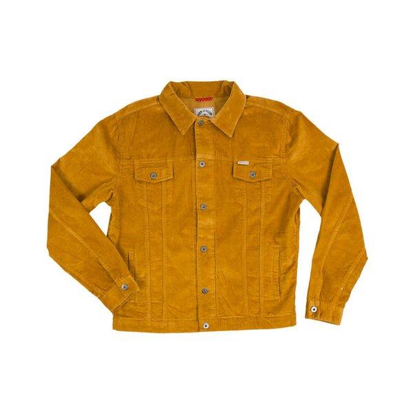 Iron and Resin Corduroy Rambler Jacket in Camel