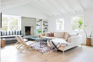 A 1950s California Ranch House Gets a Modern-Farmhouse Makeover