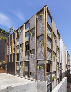 Living Screens Conceal a North Bondi Beach House and a Semi-Indoor Pool - Photo 1 of 18 -