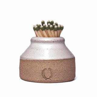 Farmhouse Pottery Milk Bottle Match Striker