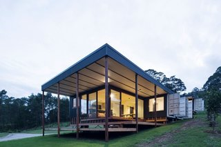 A Shipping Container Home in Australia Made With Eco-Friendly Materials - Photo 1 of 9 -