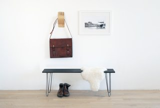 Dwell Made Presents: DIY Black Oak Bench