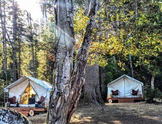 Camp Out in a Comfortable Tent or Airstream in Northern California - Photo 1 of 14 -