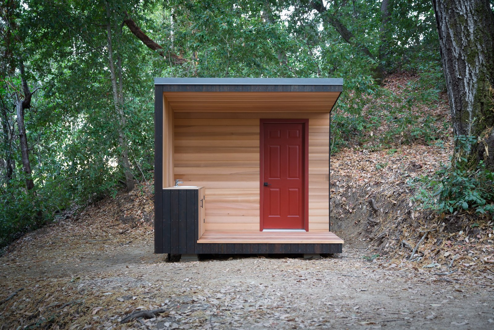 Diy project how to build your own modern outhouse dwell for How to build a modern home