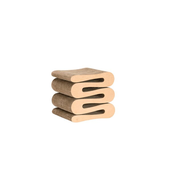 Wiggle Stool by Frank Gehry