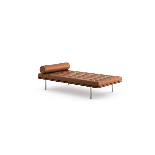 Barcelona® Couch by  Ludwig Mies van der Rohe, produced by Knoll