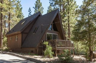 A 1970s A-Frame Cabin in Big Bear Is Brought Back to Life - Photo 1 of 12 -